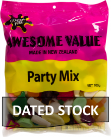 Awesome Value Party Mix 700g *DATED STOCK*