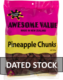 Awesome Value Pineapple Chunks 600g *DATED STOCK*