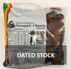 Pineapple Chunks 500g * DATED STOCK*